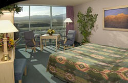 Standard Riverview room at the River Palms. Click to enlarge. Copyrighted photo courtesy River Palms Resort and Casino